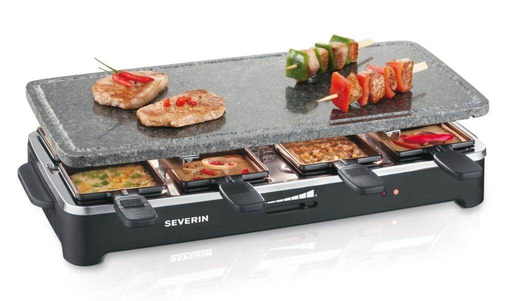 Raclette Grill Severin RG 2343 im Test