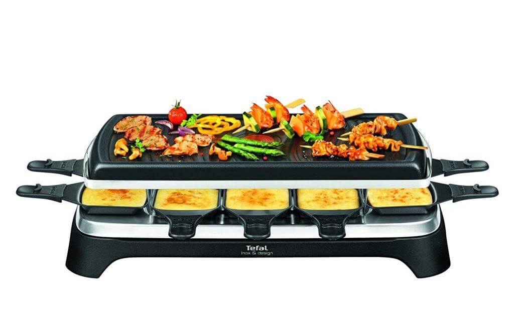Tefal re4588 Raclette im Test